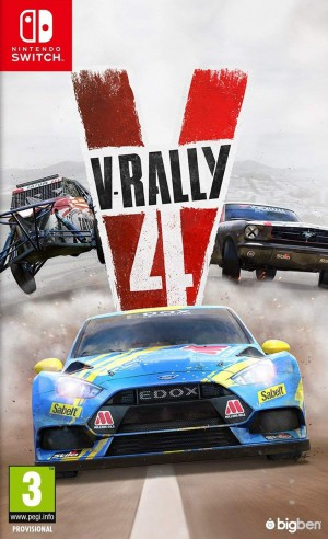 Copertina V-Rally 4 - Switch