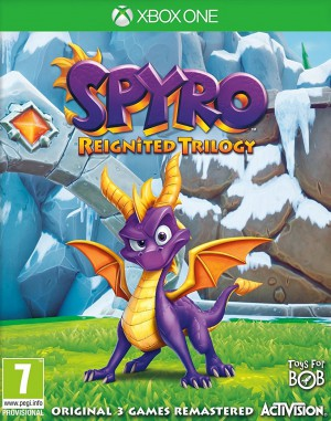 Copertina Spyro Reignited Trilogy - Xbox One