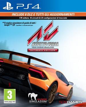 Copertina Assetto Corsa Ultimate Edition - PS4
