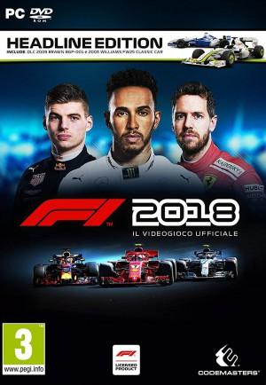 Copertina F1 2018 - PC