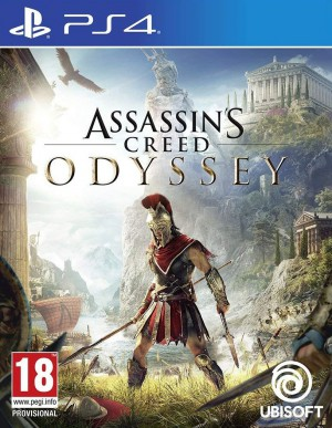 Copertina Assassin's Creed Odyssey - PS4