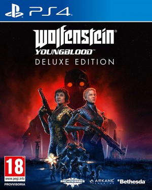 Copertina Wolfenstein: Youngblood - PS4