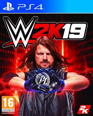 Copertina WWE 2K19 - PS4