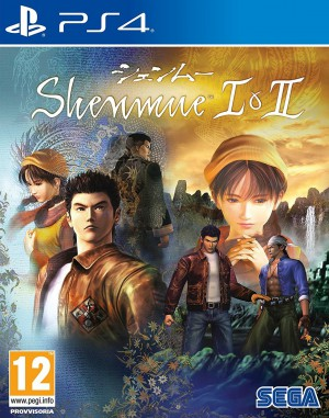 Copertina Shenmue I & II HD Remaster - PS4