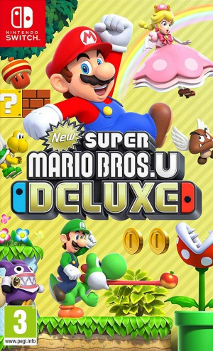 Copertina New Super Mario Bros. U Deluxe - Switch