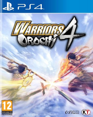 Copertina Warriors Orochi 4 - PS4