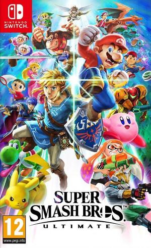 Copertina Super Smash Bros. Ultimate - Switch