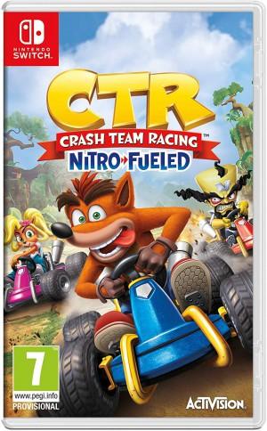 Copertina Crash Team Racing Nitro-Fueled - Switch