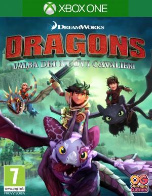 Copertina Dragons: L'Alba dei Nuovi Cavalieri - Xbox One