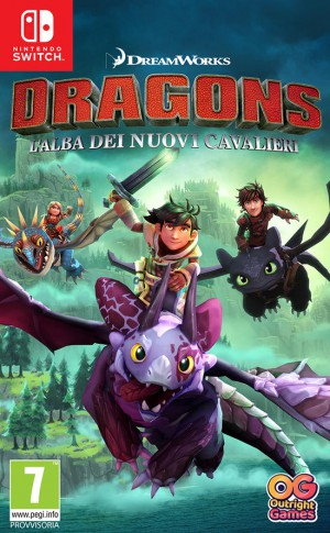 Copertina Dragons: L'Alba dei Nuovi Cavalieri - Switch