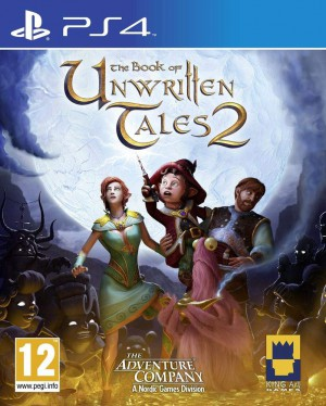 Copertina The Book of Unwritten Tales 2 - PS4
