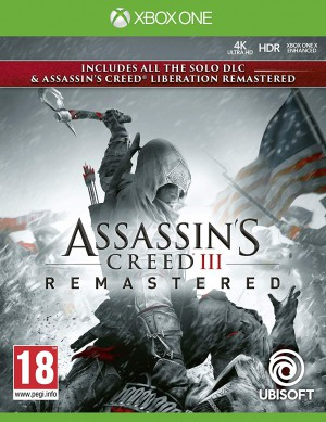 Copertina Assassin's Creed III Remastered - Xbox One