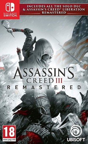 Copertina Assassin's Creed III Remastered - Switch