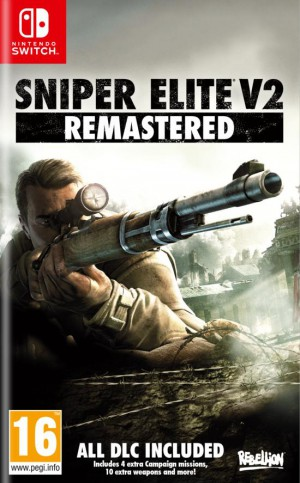 Copertina Sniper Elite V2 Remastered - Switch