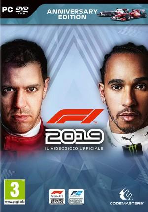 Copertina F1 2019 - PC