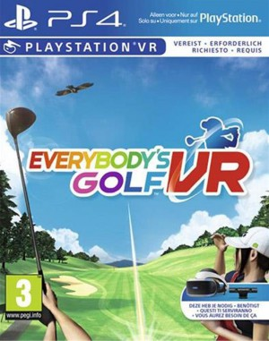 Copertina Everybody's Golf VR - PS4