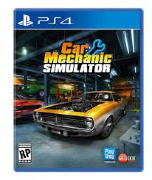 Copertina Car Mechanic Simulator - PS4