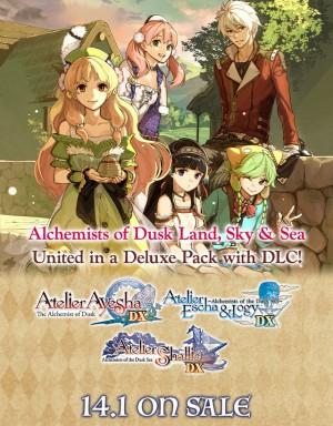 Copertina Atelier Dusk Trilogy Deluxe Pack - PC