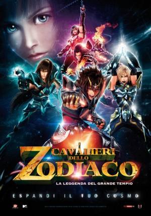 I Cavalieri dello Zodiaco: La Leggenda del Grande Tempio Cover