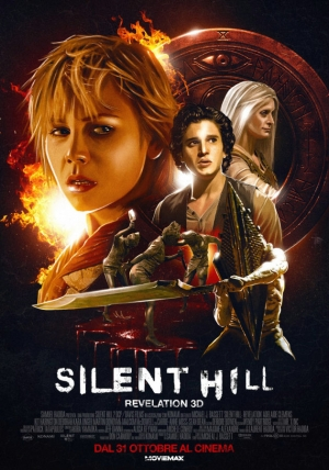 Silent Hill Revelation 3D Cover