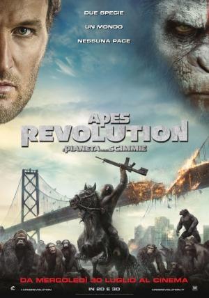 Apes Revolution: Il Pianeta delle Scimmie Cover