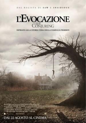 L'evocazione - The Conjuring Cover