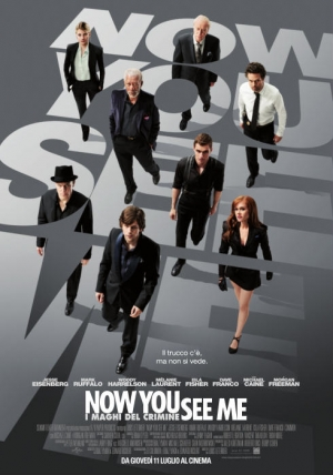 Now You See Me - I maghi del crimine Cover