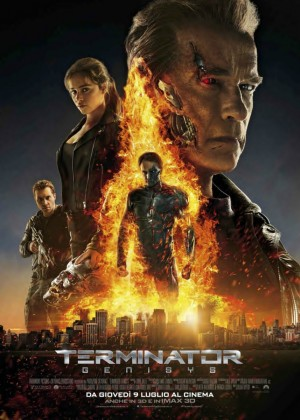 Terminator: Genisys Cover