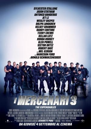 I Mercenari 3 - The Expendables Cover
