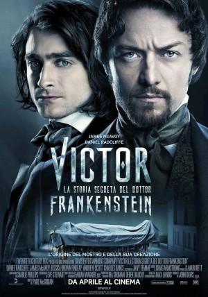 Victor - La Storia Segreta del Dott. Frankenstein Cover