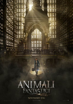 Animali Fantastici e Dove Trovarli Cover