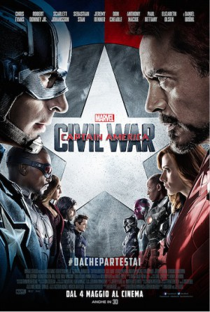 Captain America: Civil War Cover