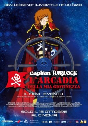 Capitan Harlock - L'Arcadia della mia Giovinezza Cover
