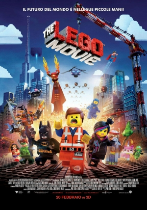 Lego Movie Cover