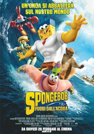 SpongeBob - Fuori dall'acqua Cover