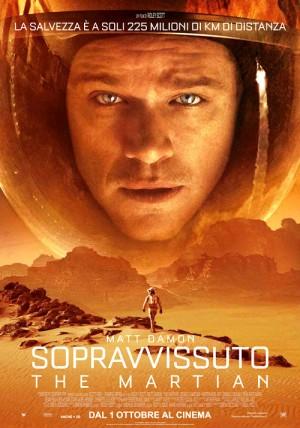 Copertina Sopravvissuto - The Martian