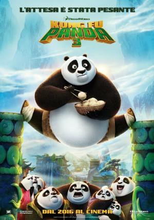 Kung Fu Panda 3 Cover