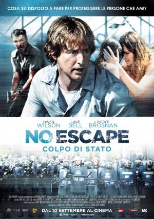 No Escape - Colpo di Stato Cover
