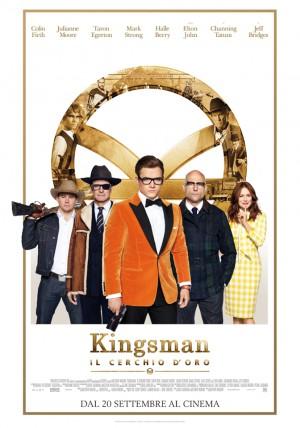 Kingsman: Il Cerchio d'oro Cover