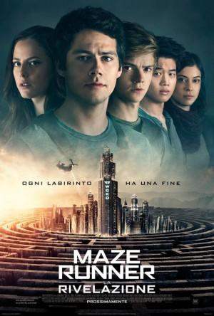 Maze Runner - La Rivelazione Cover