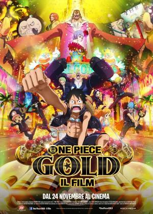 Copertina One Piece Gold