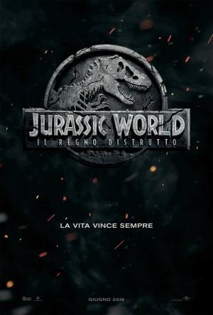 Jurassic World: Il Regno Distrutto Cover