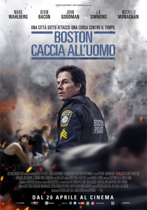 Boston: Caccia all'Uomo Cover