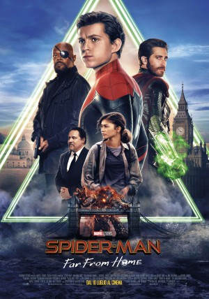 Spider-Man: Far From Home Cover