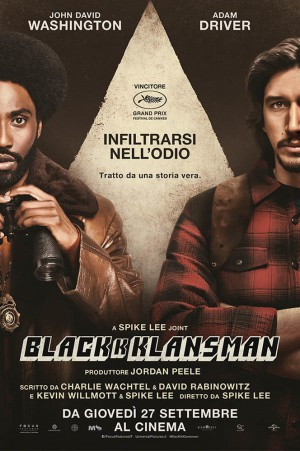 BlacKkKlansman Cover