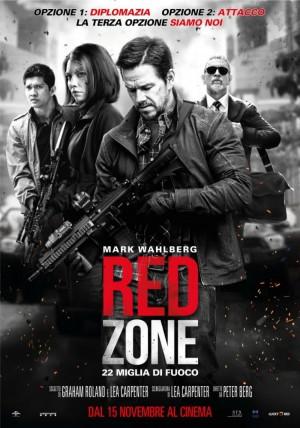 Copertina Red Zone - 22 miglia di fuoco