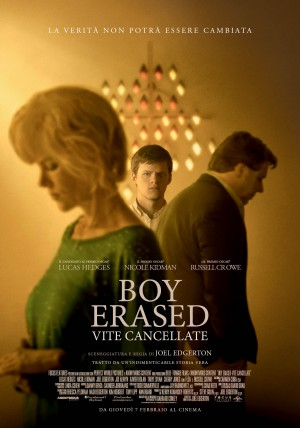 Boy Erased - Vite cancellate Cover