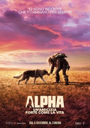 Alpha - Un'amicizia forte come la vita Cover