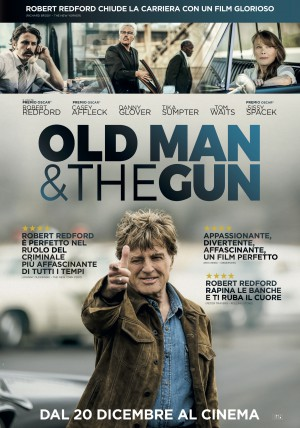 Old Man & The Gun Cover