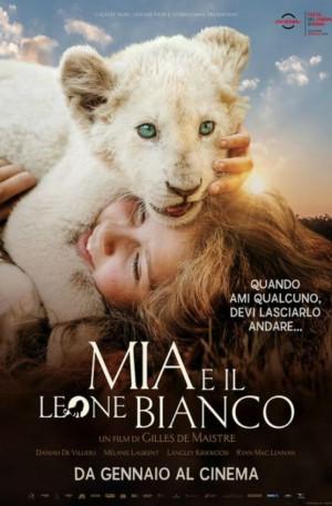 Mia e il leone bianco Cover